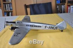 Jouet Ancien En Bois Avion Maquette Aviation Aéronautique