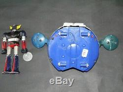Jouet Ancien Figurine Robot Shogun Warrior Goldorak Et Sa Soucoupe