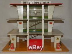 Jouet Ancien Garage Super Parking Station Service Mercedes Depreux Nil Tekno