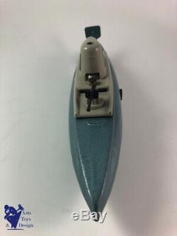 Jouet Ancien Jep 939 Sous Marin Nautilus Mecanique Boite Et Cle Rare Version