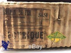 Jouet Ancien Jep Ref 5451/1 Coffret Train Electrique Pacific Mignon Vers 1925
