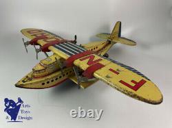 Jouet Ancien Jml Tres Rare Avion Hydravion Latecoere Lieutenant Vaisseau Paris