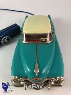 Jouet Ancien Joustra 300ea No Gama Cadillac Electrique Tole Av Boite Cale Notice