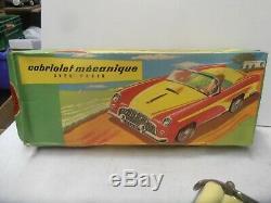 Jouet Ancien Joustra Cabriolet Mecanique Ref 2027 Collection