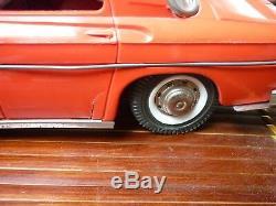 Jouet Ancien Joustra Rare Renault R8 Taxi Vintage Bel Etat Fonctionne