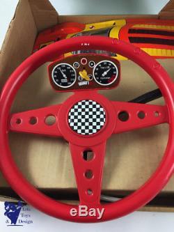 Jouet Ancien Joustra Ref 2907 Grand Volant Ferrari 512s Avec Boite