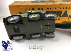 Militaire Boite Ancien Joustra Ref Canon Jouet Camion Avec 701 8nwPk0O