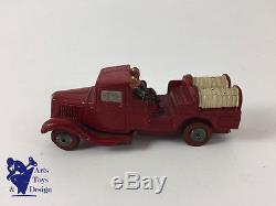 Jouet Ancien Jrd 1/43 Citroen T23 Av 2 Pompiers Platre Et Farine 1936