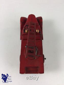 Jouet Ancien Jrd 1/43 Citroen T23 Pompiers Grande Echelle Platre Et Farine 1937