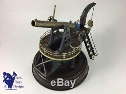 Jouet Ancien Marklin 8028 First Issue Large Coast Defense Gun 1907 All Original