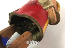 Jouet Ancien Mecanique Jouets Creation France Pinocchio C1950 H 20cm Walt Disney
