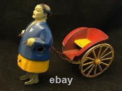 Jouet Ancien Mécanique au Chinois Automate Chinois Antique Toy Chinese
