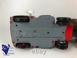 Jouet Ancien Memo Ref 401 Citroen U23 Fardier Mecanique Tole Av Boite L 44cm