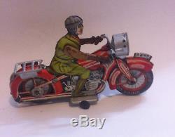 Jouet Ancien Moto Arnold A643