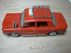 Jouet Ancien R8 Renault 8 Electrique Taxi Joustra Galerie Bagages Fonctionne Tbe