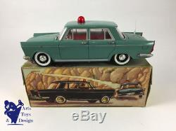 Jouet Ancien Rico Ref 749 Seat 1400 C Policia Friction 1/20 Av Boite C. 1960