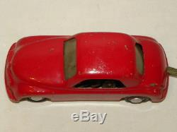 Jouet Ancien Tole Voiture Domo Fiat Topolino Puccy Vintage Toy Car Italy / Ingap