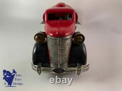 Jouet Ancien Vebe Camion Citerne Tole Mecanique Etat Exceptionnel! No Citroen