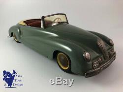 Jouet Ancien Ventura Italie Alfa Romeo 2500 Cabriolet 43cm Vers 1950 1st Type