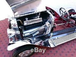 Jouet Andre Citroen Tole Chassis C6 Et Pieces Complementaire Chrome Cij Jep Jrd