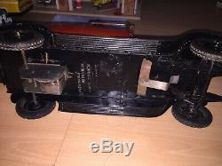 Jouet Citroen 1/10 C 6 Cabriolet Version Phares Electrique Tole Tin Toys ID Jrd