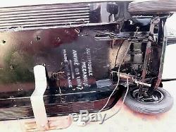 Jouet Citroen Camion C4 Tole Rare En Etat Neuf 100% D'origine Cij Jrd Jep Cr