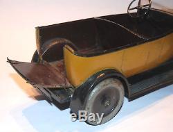 Jouet Citroën Torpédo Commercial B14 Brocanteuse 1/10 Années 1920