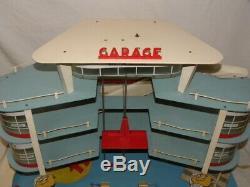 Jouet Garage Station Service Esso Depreux Pour Voitures Miniatures Dinky Norev +