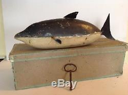 Jouet Mécanique La Baleine Ou Le Dauphin Par Elie Martin