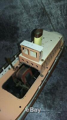 Jouet Scientifique electrique -construction navale TRANSBOAT paquebot Mécavion