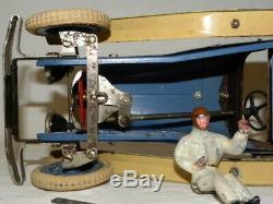 Jouet Tole Voiture Meccano Constructeur D'automobile Tin Toy Car Constructor N°2