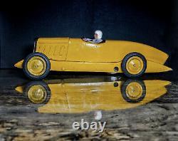 Jouet ancien Citroen grande rosalie 1930 tôle 44 cm no cij jep superbe tin toy