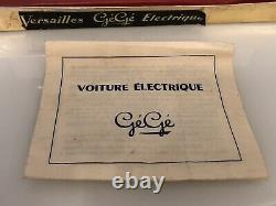 Jouet ancien Gege Simca Versailles Électrique avec boîte dorigine