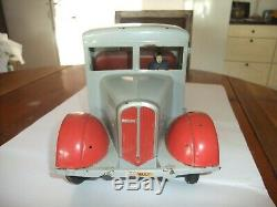 Jouet ancien Jouet renault 5 t cij camion plateau CHARBONNIER 1935 /1945