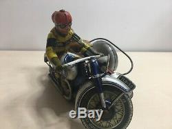 Jouet ancien Moto side car TIPPCO époque jml cr jep