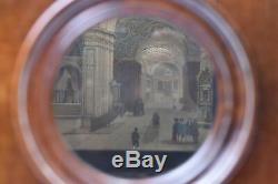 Jouet ancien. Polyorama Panoptique à grande lentille
