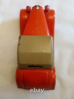 Jouet ancien Renault Vivasport cabriolet CIJ avec sa clé
