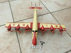 Jouet ancien avion Joustra Croix du Sud