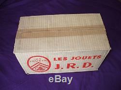 Jouet ancien en tôle JRD-Citroën Tube-cij-lehman-gely