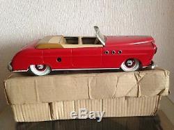 Jouet ancien tole automobile cabriolet ML Martinan Larnaude M. L. 1950 buick
