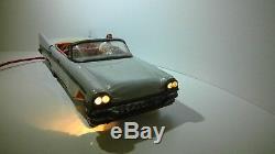 Jouet ancien voiture tole filoguidée cadillac toys