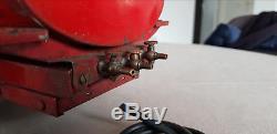 Jouet andré citroen T23 tôle mecanique T45 citerne jouet ancien 1935 au 1/10eme