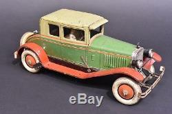 Jouet automobile ancien. Coupé CR Rossignol France. Vers 1925
