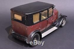 Jouet automobile anciens, Citroën Berline B 14, échelle 1/7ème. Circa 1925