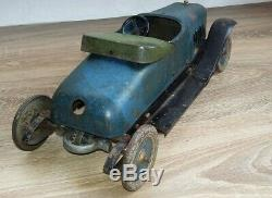 Jouet citroen roadster de 1920 long 38 cm jouet en tole