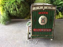 Jouet en tôle Lehmann 595