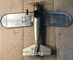 Jouet en tole jep avion F252 airplane