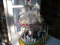 Jouet grand Manège Marklin en tôle neuf le carrousel