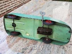 Jouet tôle ancien Citroën Tank Rosalie JRD CIJ Bugatti voiture toys tinplate