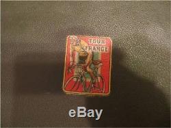 Jouet très ancien, coffret manège Collection Tour de France 1950 introuvable